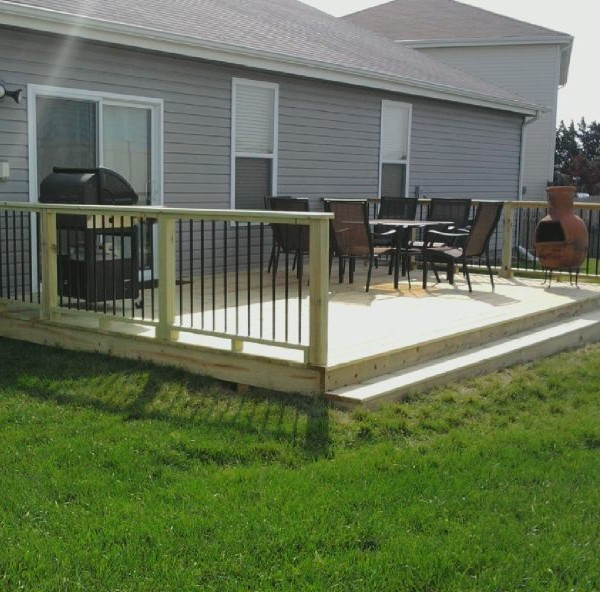 Treated Deck
