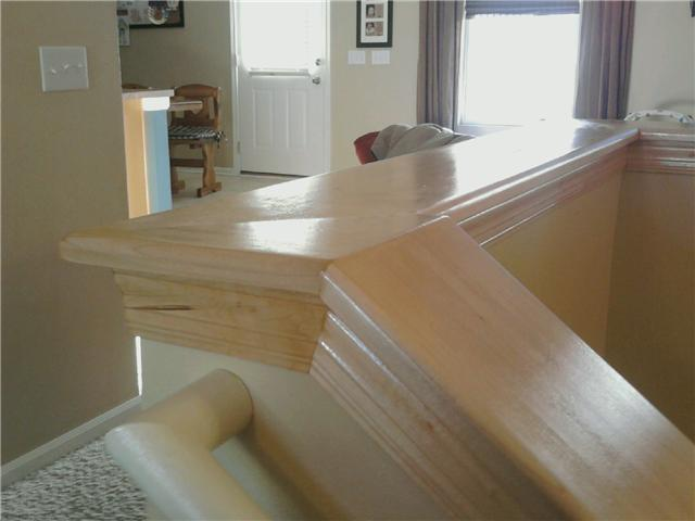 Wood Stair Caps