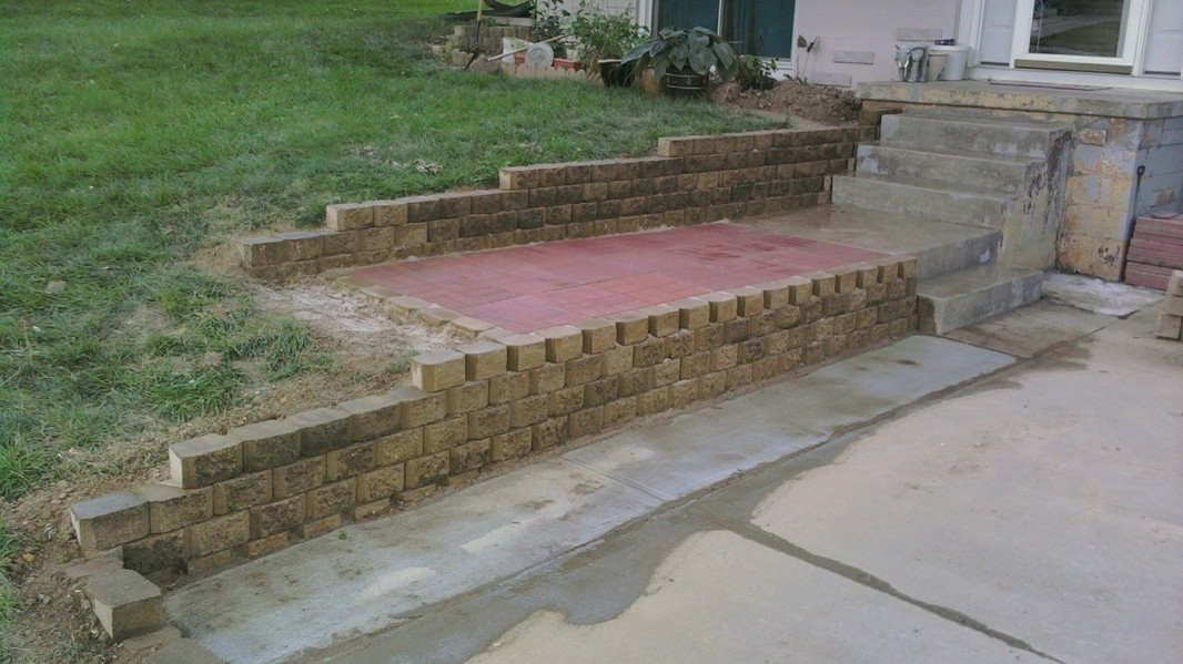 Pavers And Retaining Wall Metz Construction